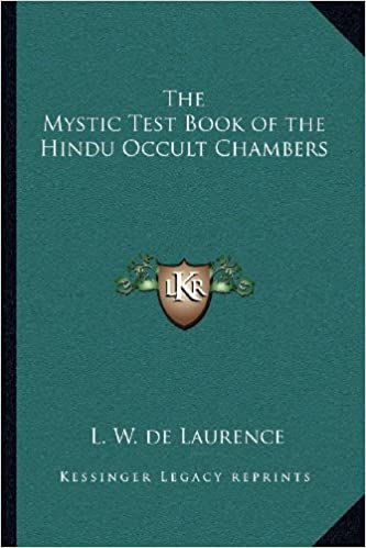 Book The Mystic Test Book of the Hindu Occult Chambers