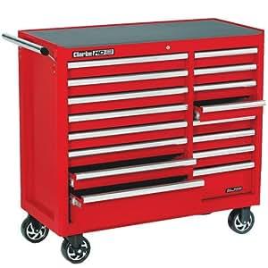 Último modelo CLARKE caja de herramientas con ruedas 16Rodamiento de Bolas cajones funda para CBB226B