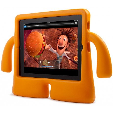 Speck Products iGuy - Case for web tablet - mango - for Apple iPad (3rd generation)