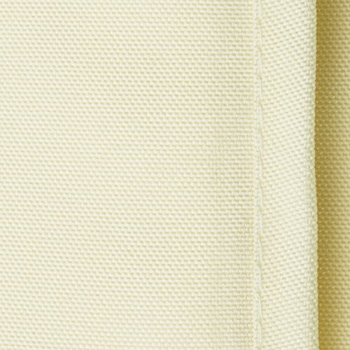 Lann's Linens - 10 pcs 132 in. Round PREMIUM WEIGHT Seamless Tablecloths - for Wedding or Party Use - Ivory by Lanns Linens (Image #2)