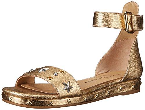 - Chinese Laundry Women's Grady Flat Sandal, Gold Metallic,  6.5 M US