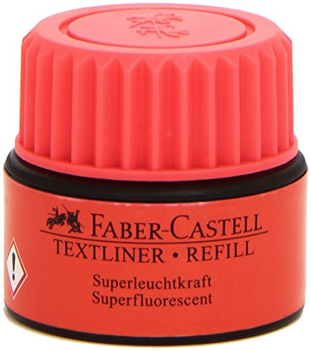 Faber-Castell 154921 - Refill für Textliner 1543, 1546 und 1548, rot