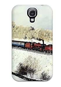 Awesome Case Cover Compatible With Galaxy S4 - Train 5468129K83716775