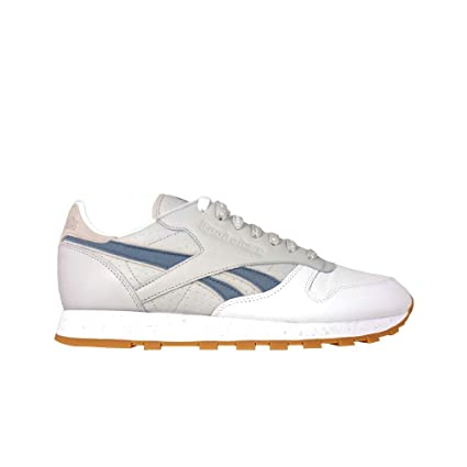 b6b0ee2d10a Image Unavailable. Image not available for. Color  Reebok Classic Leather X  Extra Butter (White Snowy Grey) Men s Shoes CN2022
