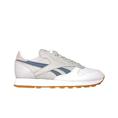   Reebok Mens Classic Leather Extra Butter White