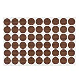 TOOGOO lf Adhesive Screw Cover Caps Stickers 54 in 1 For 21mm Hole Diameter