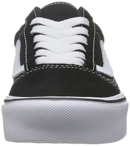 Mixte Noir Old Suede Baskets Canvas Skool Lite Adulte Vans wpIRqp