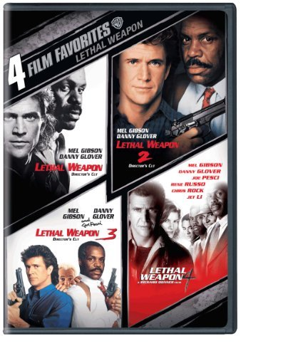 Lethal Weapon: 4 Film Favorites [DVD] [Region 1] [US Import] [NTSC]
