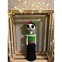 Muñeca de crochet de Catrina