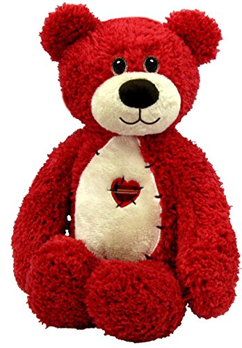 "First & Main 10"" Red Tender Teddy Bear"