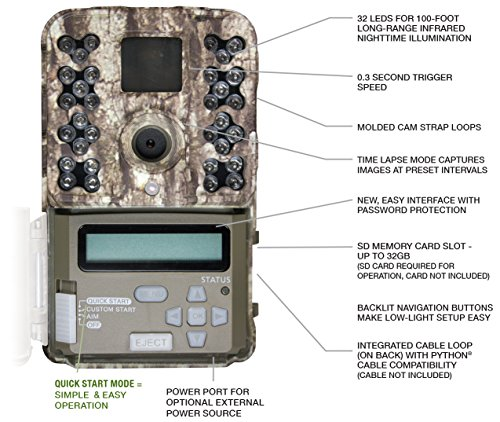 Moultrie-M-40-Game-Camera-2017-Management-Series-16-MP-03-Trigger-Speed-1080P-Video-100-Flash-Moultrie-Mobile-Compatible