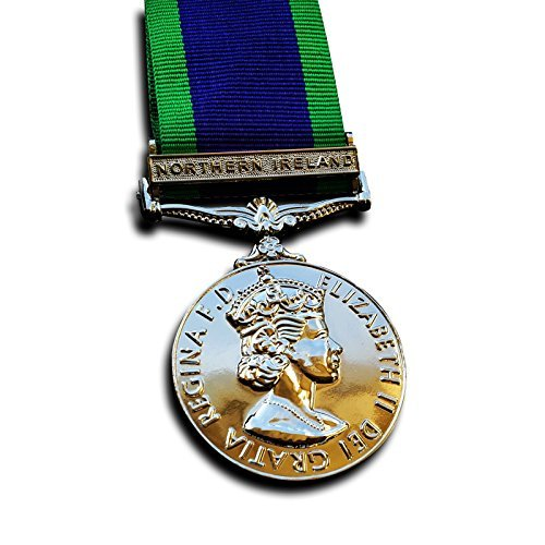Military Medal The General Service Medal Northern Ireland Medal 1962 Campaign Service Repro