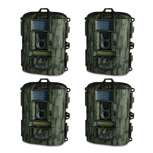 (4) MOULTRIE D55-IR Game Spy 5 Megapixel Digital Infrared Game Camera (Camo) - REFURBISHED