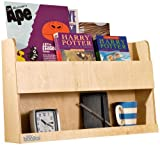 Tidy Books - The Original Bunk Bed Shelves and Bedside Storage for Top Bunk Beds and Cabin Beds. Natural Wood- 33 x 53 x 12 cm