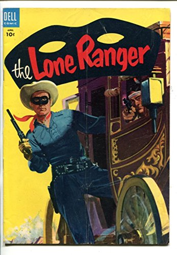 the-lone-ranger-82-1955-dell-tonto-scout-silver-silver-bullet-stagecoach-vg
