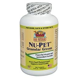 Nu-Pet Granular Greens (Powder) 240 grams - Yeast Free