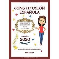 Constitución Española en formato coloreable para estudiar: Colección