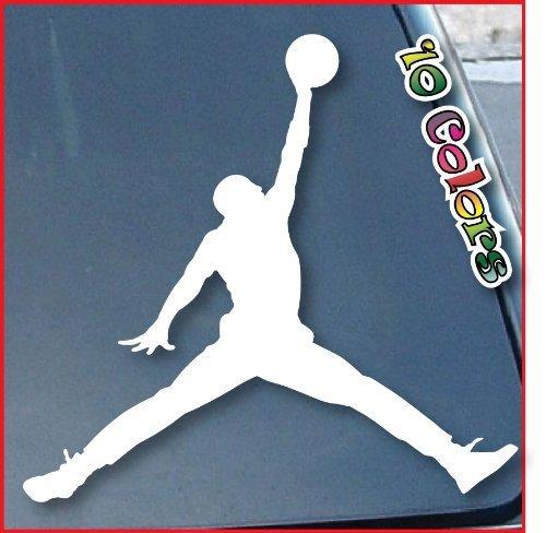 Air Jordan Car Window Vinyl Decal Sticker 6