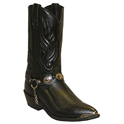 Abilene Men's Sage by with Concho Strap Western Boot - 3034 | Western