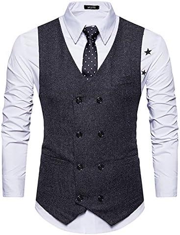 WULFUL Breasted Waistcoat Vintage Gentleman product image