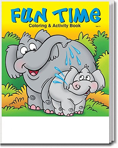 25 Pack: Fun Time Coloring Books For Kids - Kids Coloring Books Lot - Wholesale  Coloring Books - Coloring Books For Kids In Bulk - 16 Fun-Filled Coloring  Sheets And Games- Buy