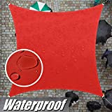 ColourTree 14' x 14' Red Square Waterproof Sun
