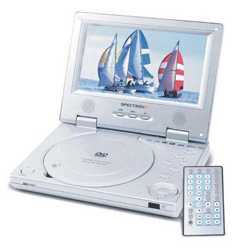Spectroniq DVD70X 7 Inch Portable DVD Player (Spectroniq Player Dvd)