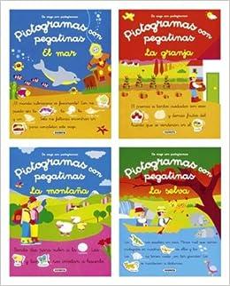 De viaje con pictogramas y pegatinas Pack de 4 libros De Viaje Con ...