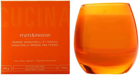 Cucina Sanguinelli Orange and Fennel 5.8 oz Perfumed Candle