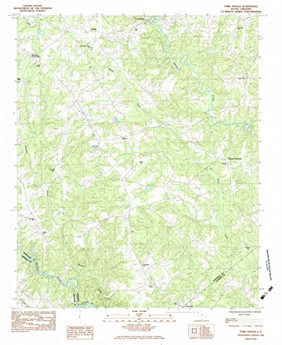 Flatland Fork (Fork Shoals SC topo map, 1:24000 scale, 7.5 X 7.5 Minute, Historical, 1983, updated 1983, 26.8 x 21.9 IN - Paper)