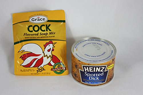 Heinz Spotted Dick Sponge Pudding And Grace Cock Flavored