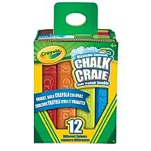 Crayola 12-Count Sidewalk Chalk