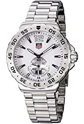 TAG Heuer Men's WAU1113.BA0858 Formula 1 White Dial Stainless Steel Watch