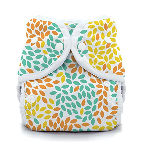 Thirsties Duo Wrap Cloth Diaper Cover, Snap Closure, Fallen Leaves Size One (6-18 lbs)