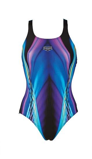 c750c52166a Sportbekleidung arena Camouflage Tech Back One Piece Swimsuit Women mirtilla  2018 Schwimmanzug