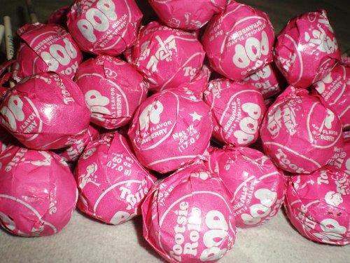 (Strawberry Tootsie Pops 30 pops)