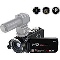 Camcorder Camera Full HD 1080p 24.0MP Digital Video Recorder Webcam 16x Digital Zoom 3 Inch Screen HDMI Output With Remote Control