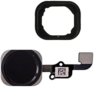 FirefixTM for iPhone 6S and 6S Plus Home Button with Flex Cable and Touch ID Sensor Assembly (Black)