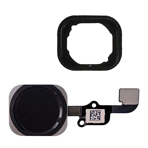 quality design 1b93e 496ce FirefixTM for iPhone 6S and 6S Plus Home Button with Flex Cable and Touch  ID Sensor Assembly (Black)