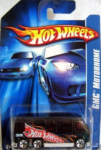 - HOT WHEELS GMC MOTORHOME DIE CAST VEHICLE