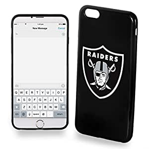 Oakland Raiders iPhone 6 Plus TPU Silicone Soft Slim Case