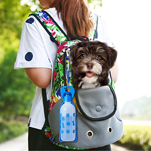 ANPETBEST Travel Water Bottle 325ML/11oz Water Dispenser Portable Mug for Dogs,Cats and Other Small Animals by ANPETBEST (Image #2)