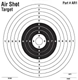 100 Pack - Air Shot Paper Targets - 5.5 By 5.5 - Fits Gamo Cone Traps - Part # AR1 (100 Pack AR1)