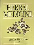 Herbal Medicine, Rudolf Fritz Weiss, 0906584191