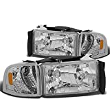 DNA MOTORING HL-OH-DR944P-CH-AM Headlight Assembly Driver & Passenger Side