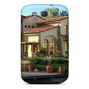 Hot Tpye 3d House Cases Covers For Galaxy S3