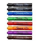 7 Color Flip Chart Marker Set - Low Odor - (Black, Blue, Green, Orange, Red, Purple, Brown)