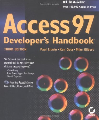 Access 97 Developers Handbook