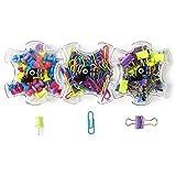 Yoobi Paperclip And Push Pin Set (144 Count)
