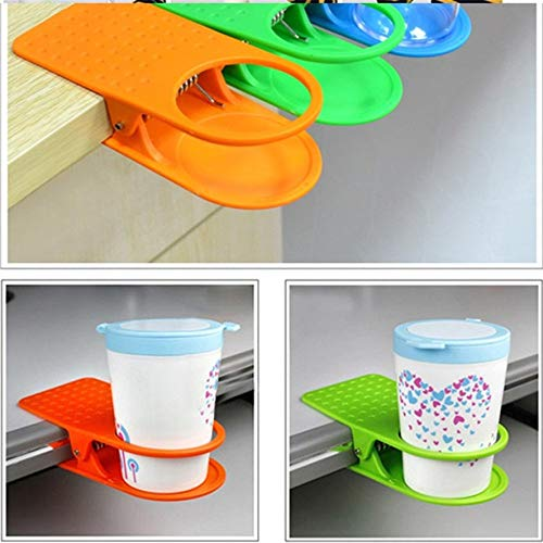 DeemoShop Zero Office Home Drink Coffee Water Cup Holder Mug Rack Cradle Stand Clip Desk Table Hot Purchasing